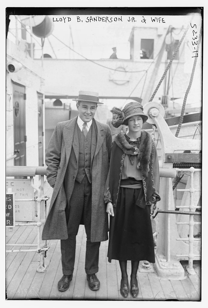 Lloyd B. Sanderson Jr. & wife (LOC)