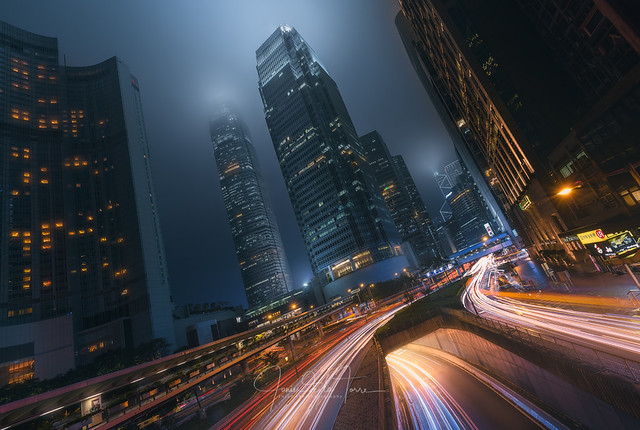 Driving Hong Kong
