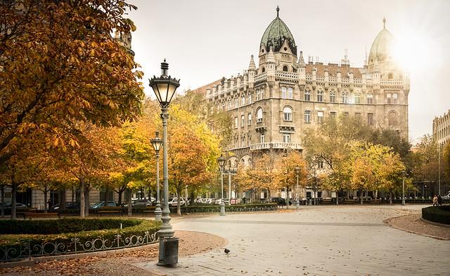 Autumn in Budapest