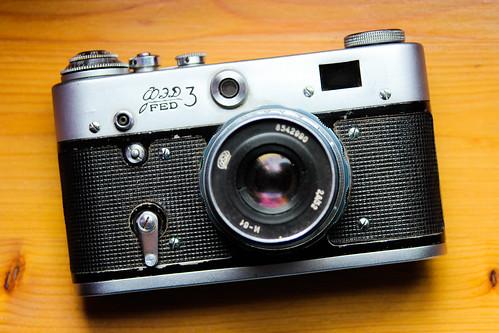 camera canon canon600d ef28105mm fed3 ukranian vintage retro 35mm film leica closeup soviet fed rangefinder analog analogcamera filmcamera