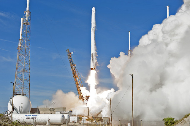 NASA Sends New Research to Space Station Aboard SpaceX Resupply Mission