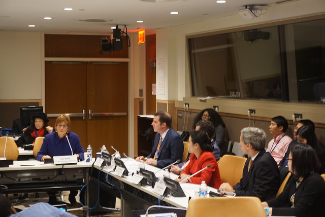 United States-2017-11-03-Event at the UN Stresses Fathers' Value for Daughters