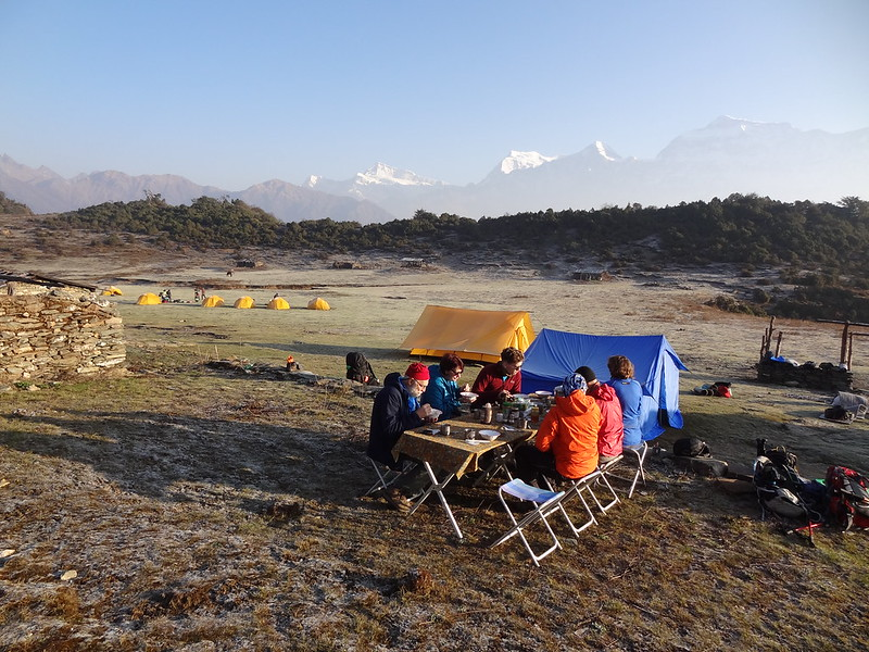 Breakfast, Jalja La camp