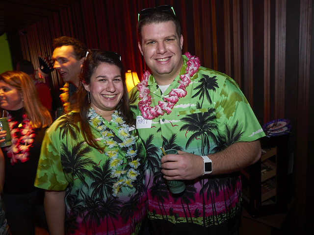 Hawaiian L'Chaim Chanukah Party