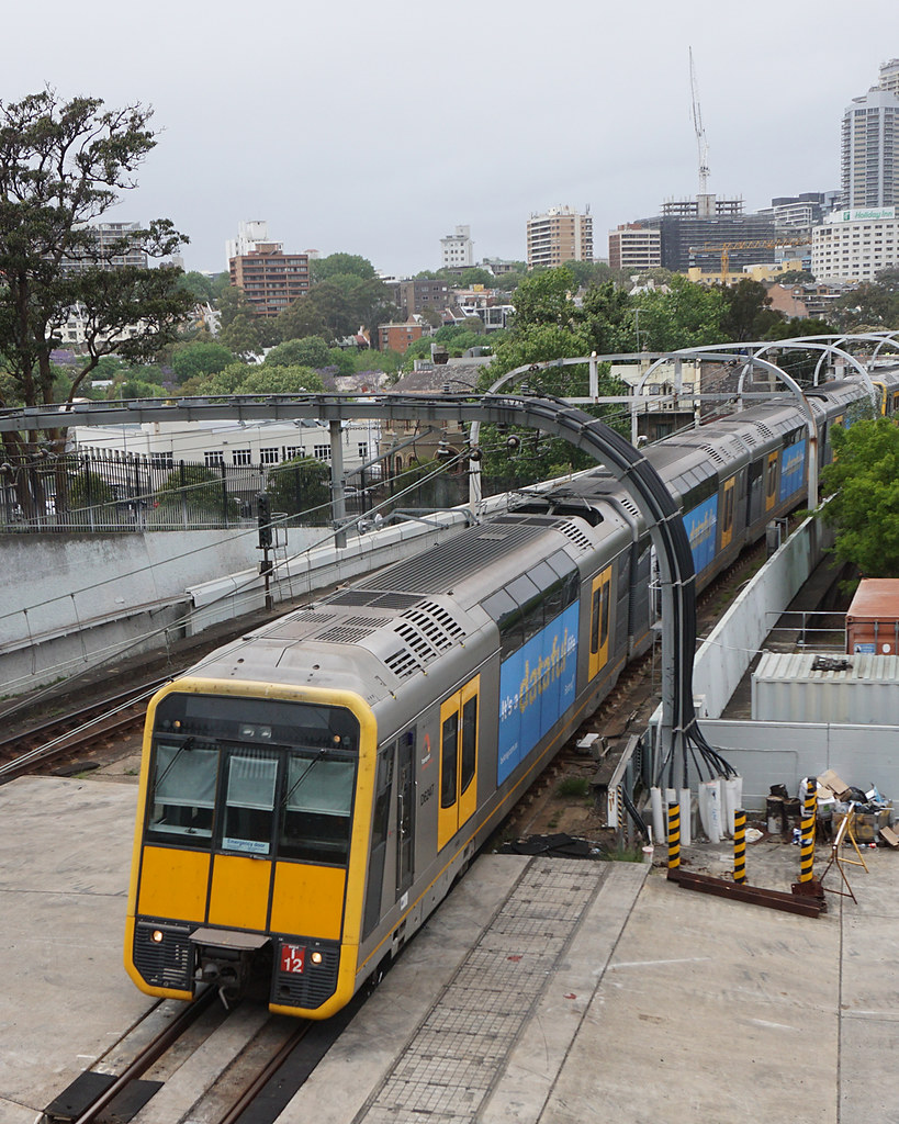 Sydney Trains T-set T12 - Sydney by Neil Pulling