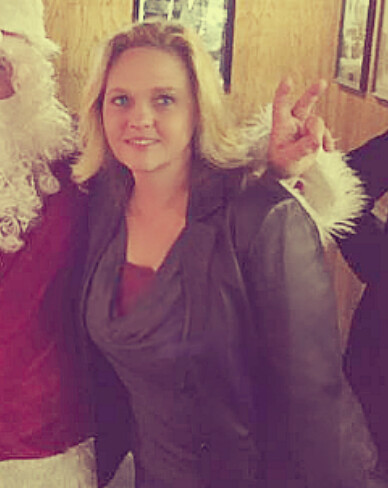 Santa and a Blonde in Leather