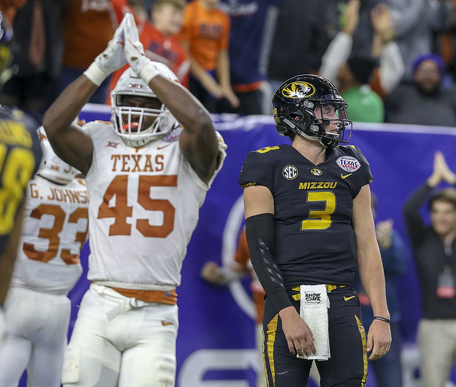 NCAA Football 2017: Texas Bowl - Texas vs Missouri DEC 27