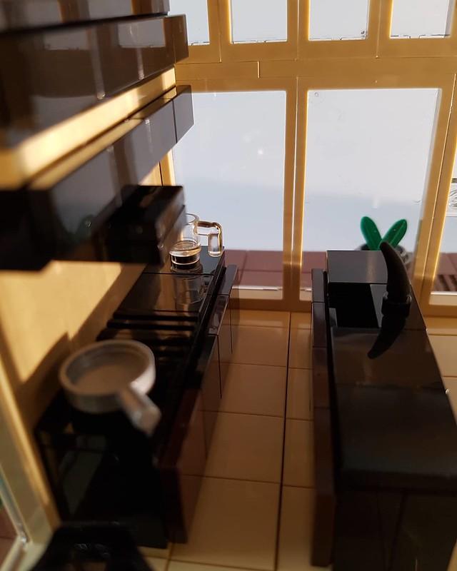 Cocoa Jungle Cottage MOC kitchen interior