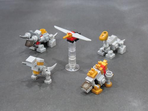 Dinobots WIP