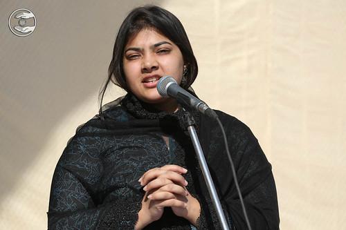Devotee from Mumbai, Sadhika Shauq, expresses her views
