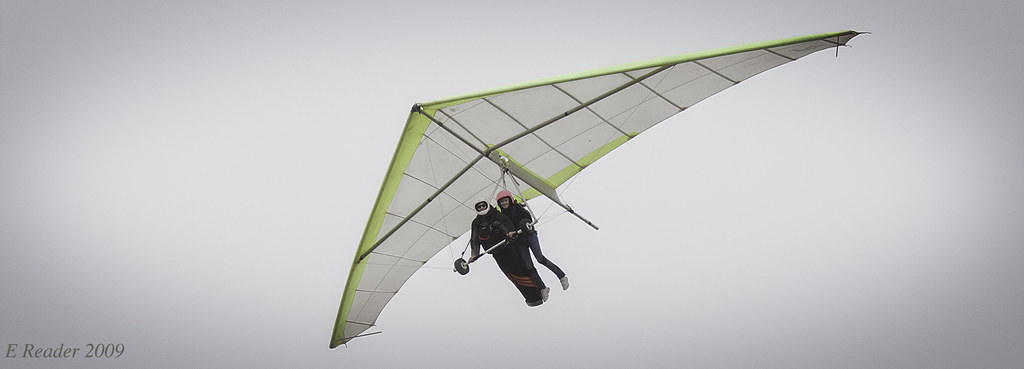 Hang Gliding in Tandem | Hang gliding is not necessarily a s… | Flickr