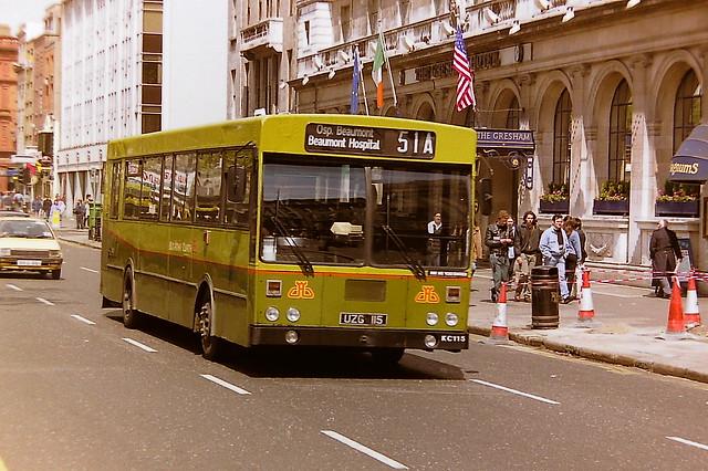 DUBLIN BUS/BUS ATHA CLIATH KC115 UZG115