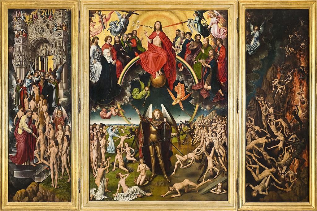 Viimeinen tuomio (Hans Memling, maalattu 1467-1671)