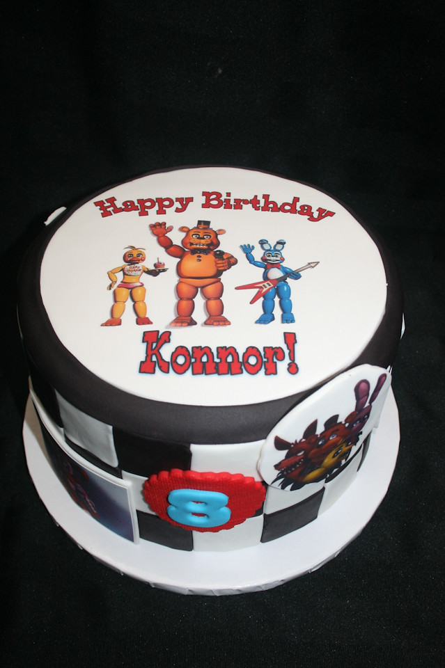 Awesome 8Th Birthday Cake Konnor Alicia Bryson Flickr Funny Birthday Cards Online Inifodamsfinfo