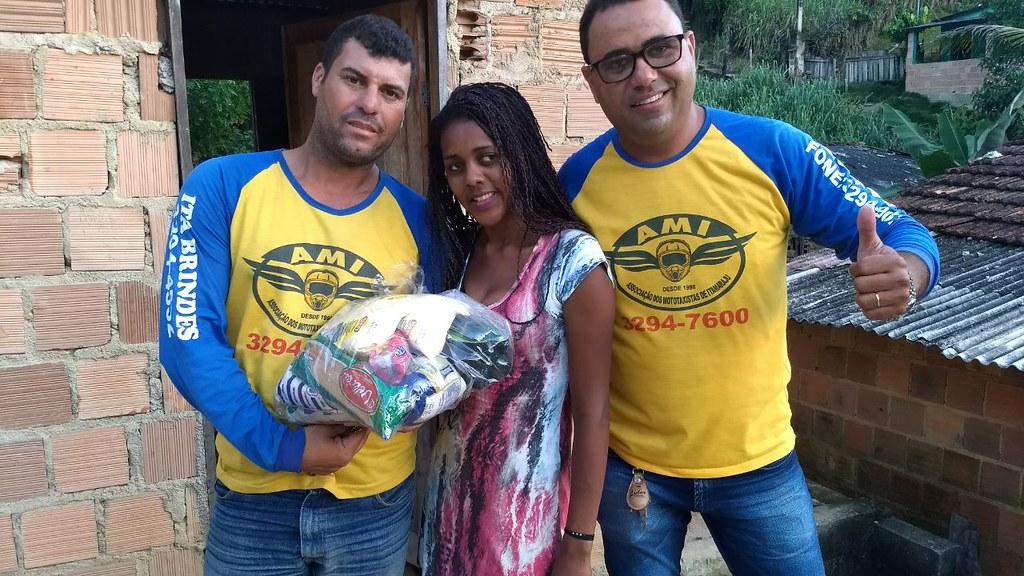 campanha de doação de alimentos dos motaxistas de itamaraju (5)