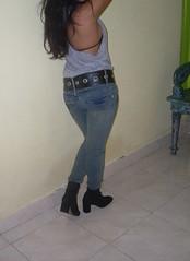 wide jeans belt SDC11301