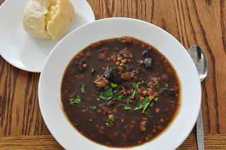 Beef and Barley Soup | by jeffreyw