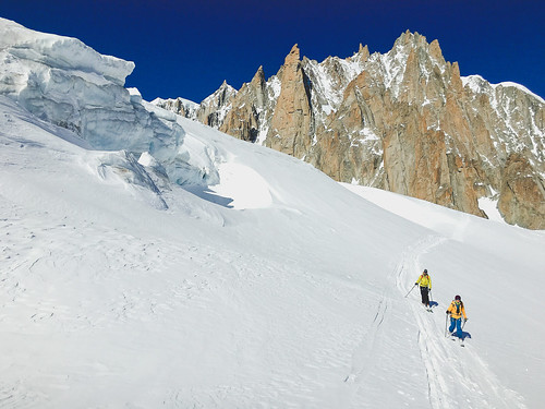 Ski touring the French Alps | by angelatravels11