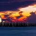 Lighthouse in Pattaya at sunset by hsadura