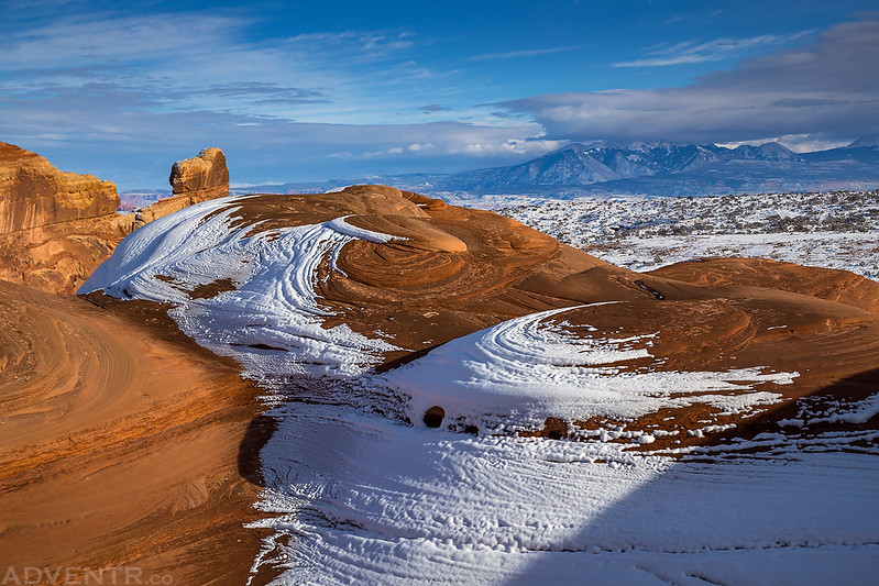 Snow Swirls