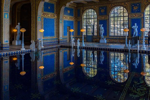 Indoor Pool, Hearst Castle, San Simeon, CA