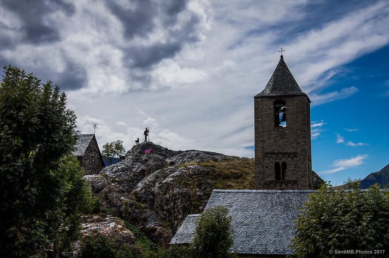 Sant Joan de Boí y el Monument al Partor
