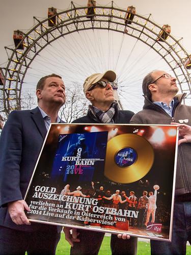 Go for Gold... Erich Schindlecker, Dr. Kurt Ostbahn, Georg Hoanzl!   by hans eder1