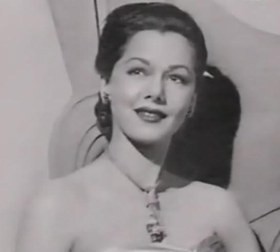 Actress Maria Montez, 1940's