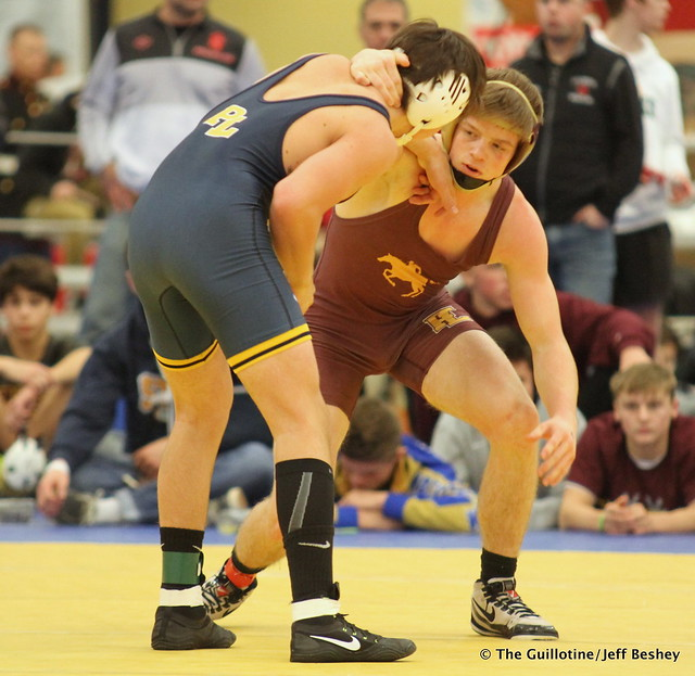 145 Semifinal - Curtis LeMair (Prior Lake) 13-1 won by decision over Troy Pleski (Forest Lake) 12-3 (Dec 3-2) - 171216BJF0251