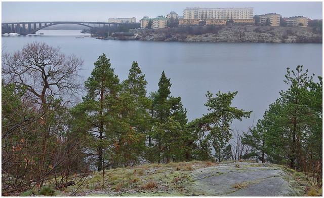 View towards Fredhäll, Kungsholmen - Stockholm