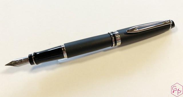 Medium Waterman Hemisphere Fountain Pen Matte Black CT