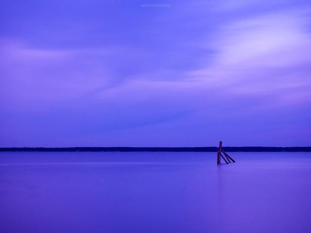 Sonnenuntergang am Steinhuder Meer Sunset Steinhuder Meer