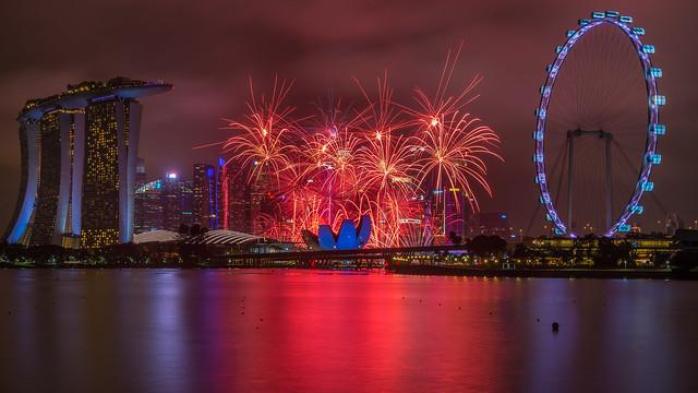 Marina Bay Singapore Countdown 2018
