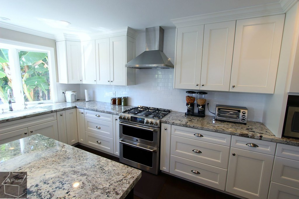 ... Kitchen Remodel With Brand New White Custom Cabinets In City Of Irvine,  Orange County Http