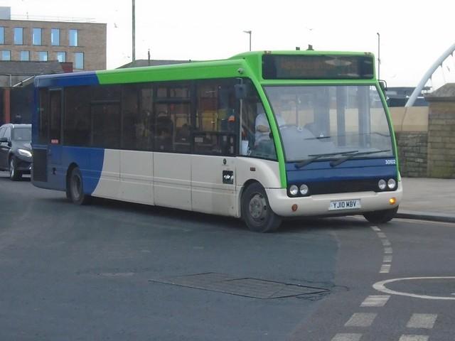 Diamond Northwest 30102 (YJ10 MBV) Ex Courtney Buses