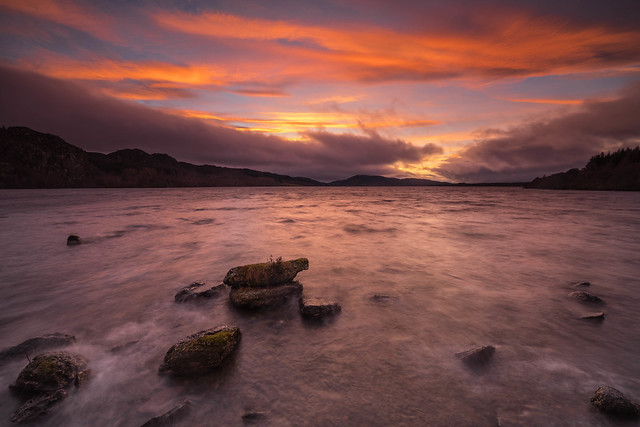A Highland Sunset ..