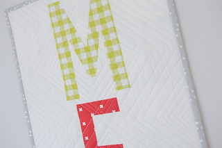Laguna Table Runner quilting detail | by frommartawithlove