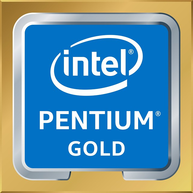 Intel Pentium Gold processors, announced in December 2017, are in market and based on the Kaby Lake architecture. (Credit: Intel Corporation)