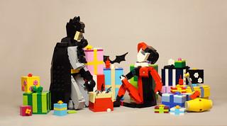 Christmas Eve For Batman and Harley | by vir-a-cocha