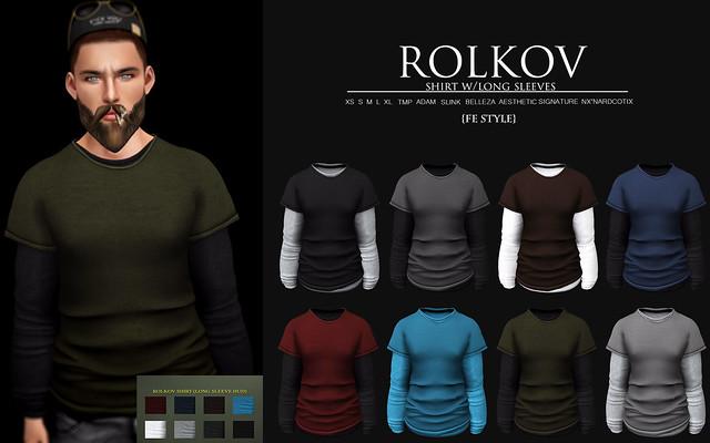 ROLKOV SHIRT   L$60 SALE