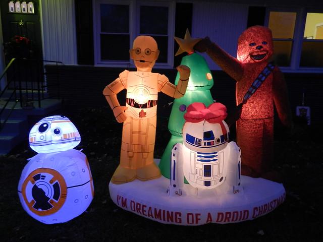 Star Wars Droid Christmas