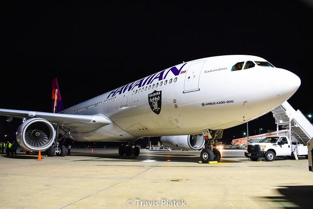 Hawaiian Airlines –  Airbus A330-243 N378HA @ Buffalo Niagara