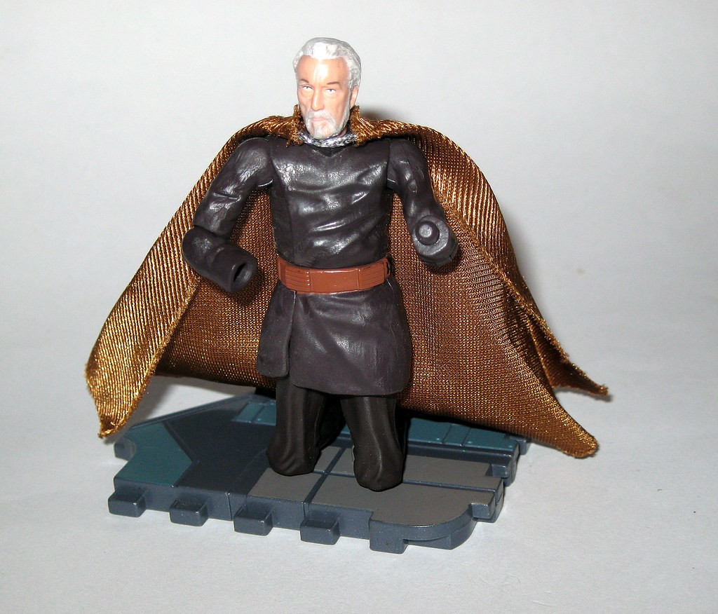 Star Wars Revenge of the Sith Comte DOOKU Sith Lord Figure Action 13