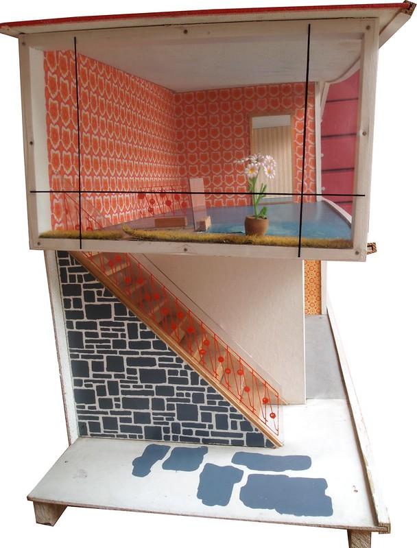 Puppenhaus - 1968 VERO - dollhouse