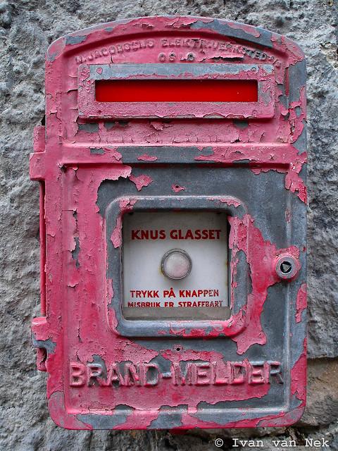 Brand-Melder