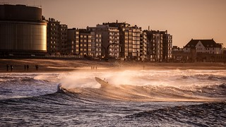 Into Ostend surf - 7