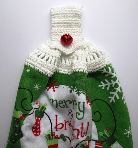 Christmas Pointed Handle Towel Topper