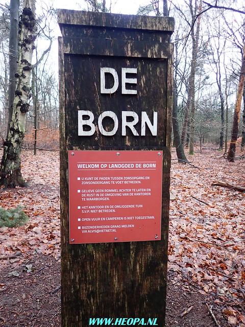 2017-12-27 Bennekomse-    Bossentocht         24 Km    (95)