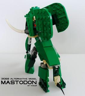Mastodon 05 Back | by kocurvelox