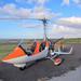 Gyrocoptère audessus de la Réunion